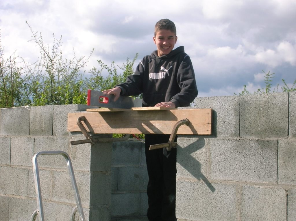 construction de mon abri de jardin dernier rang de. Black Bedroom Furniture Sets. Home Design Ideas