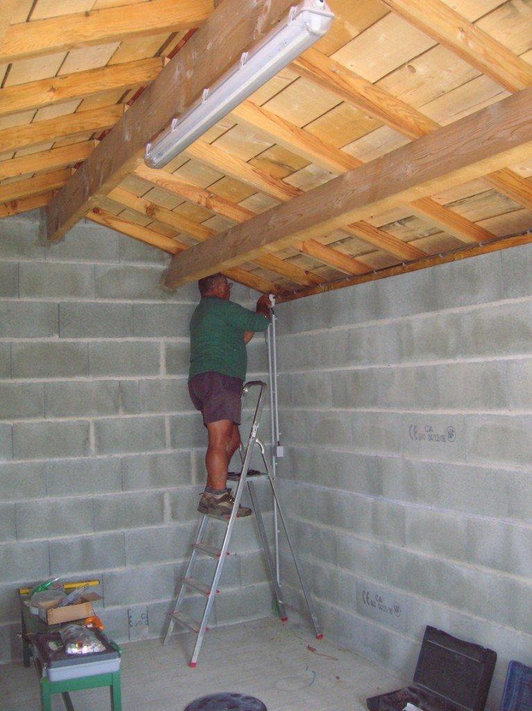 Construction de mon abri de jardin non class - Construction d un abris de jardin en bois ...