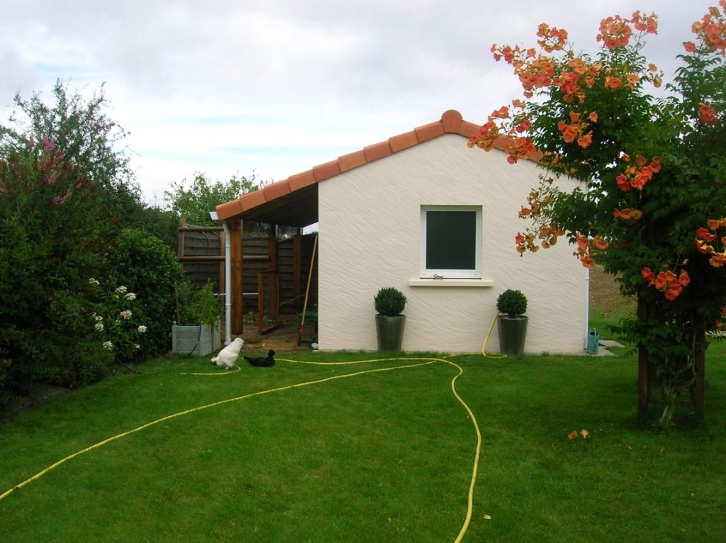 Construction de mon abri de jardin construction de mon - Construction 3m limite propriete ...